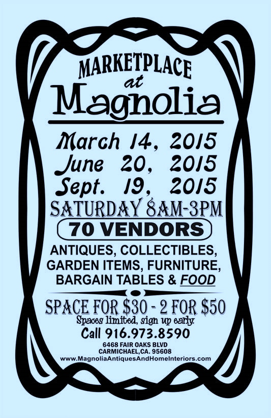 Marketplace at Magnolia 2015 Flyer