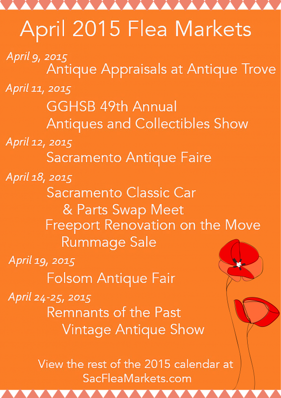 Sacramento Flea Markets April 2015